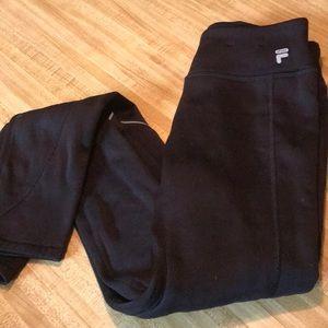 Fila sport fleece leggings
